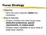 focus strategy32
