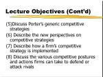 lecture objectives cont d