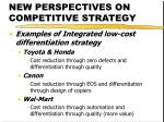 new perspectives on competitive strategy40