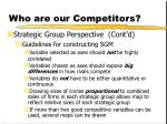 who are our competitors11