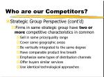 who are our competitors9