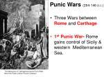 punic wars 264 146 b c