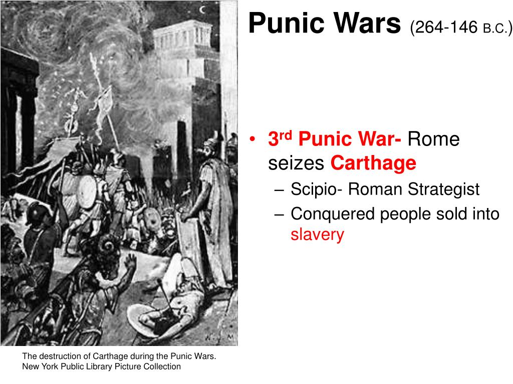 the impact of the punic wars in rome One of the major impacts of these punic wars on rome was the new population of slave labor it had when the final war was won any carthaginian not killed by the romans was taken as a slave this meant 50,000 new slaves for the roman republic.