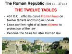 the roman republic 509 b c 27 b c13