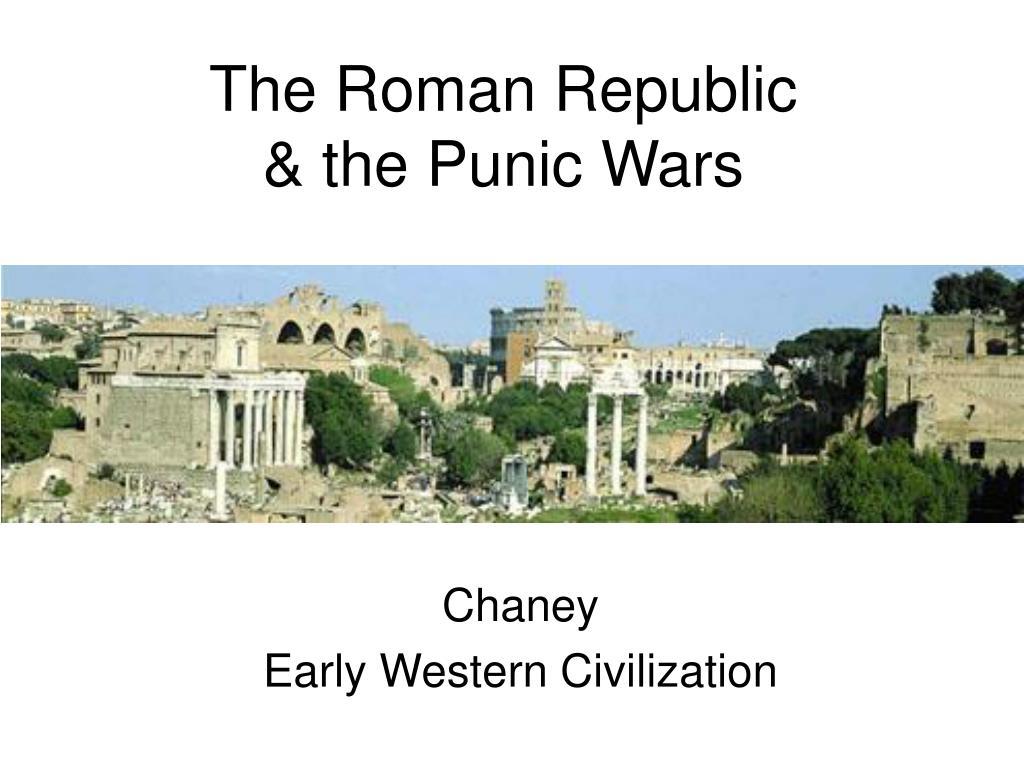 the roman republic the punic wars l.