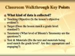 classroom walkthrough key points4