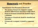 homework and practice36