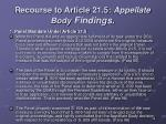 recourse to article 21 5 appellate body findings
