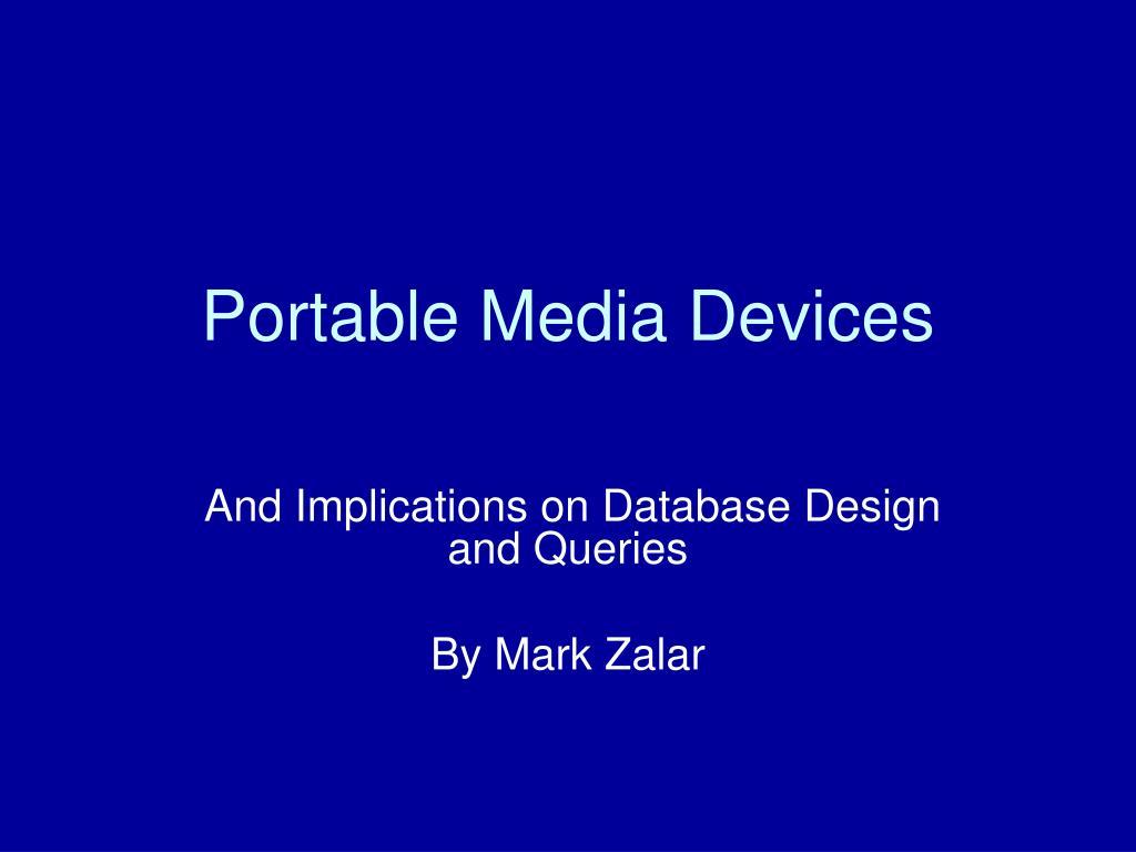 portable media devices l.