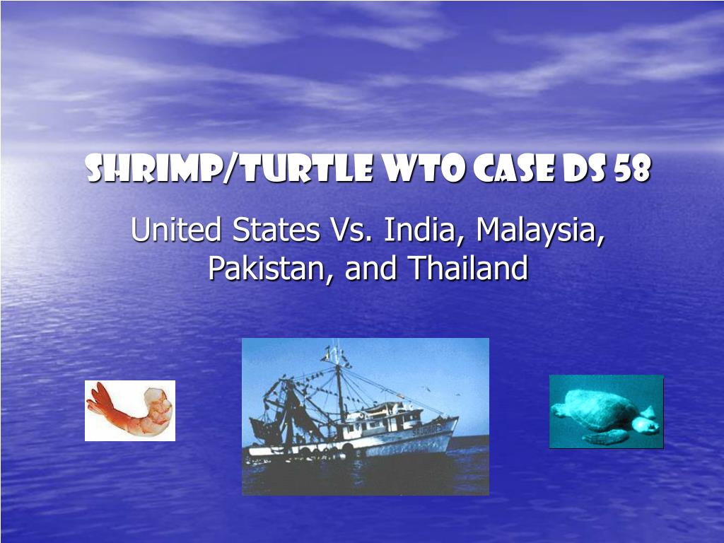 shrimp turtle wto case ds 58 l.