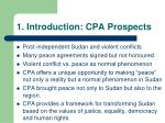 1 introduction cpa prospects