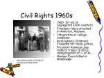 civil rights 1960s