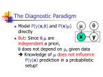 the diagnostic paradigm