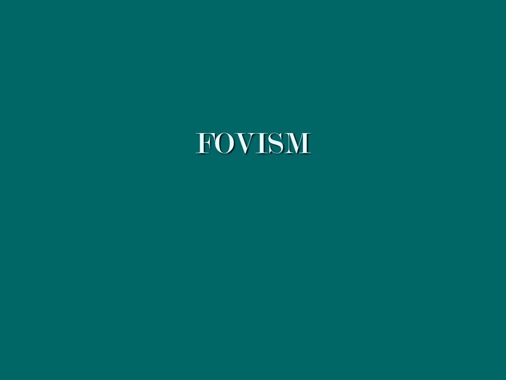 fovism l.