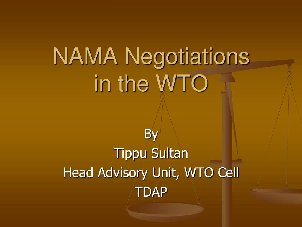 NAMA Negotiations
