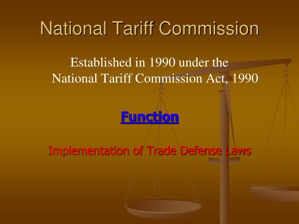 National Tariff Commission