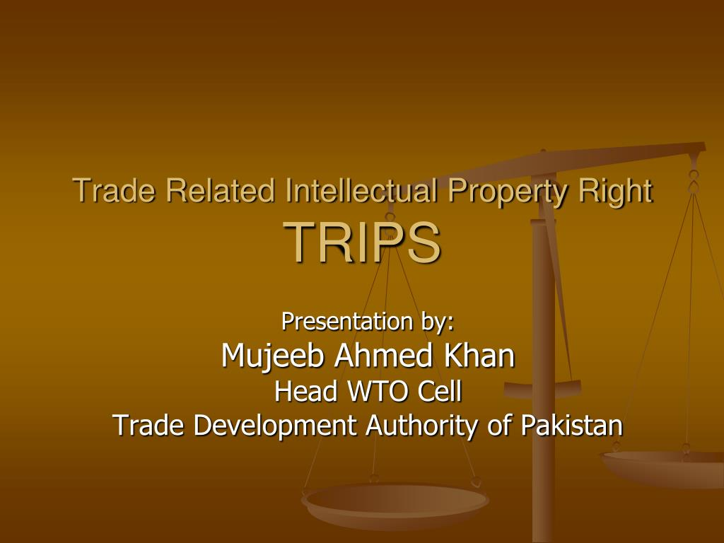 Trade Related Intellectual Property Right
