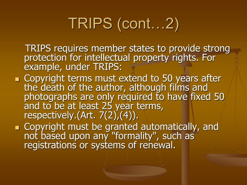 TRIPS (cont…2)