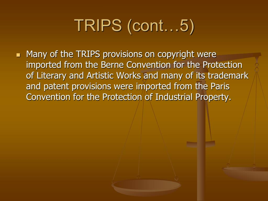 TRIPS (cont…5)