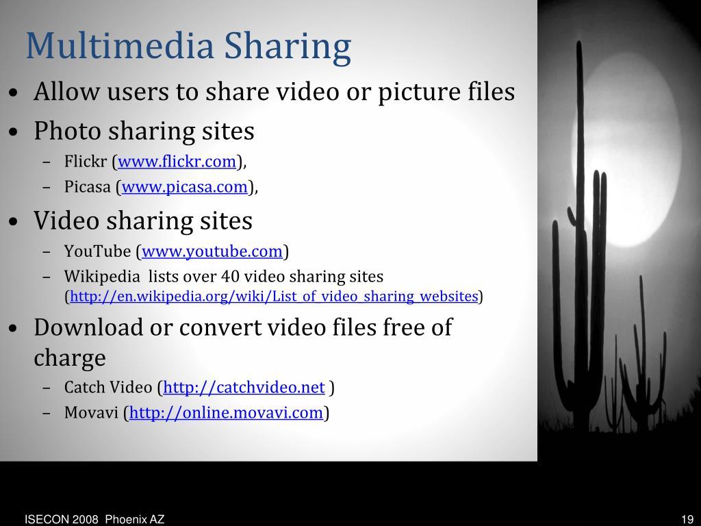 Multimedia Sharing