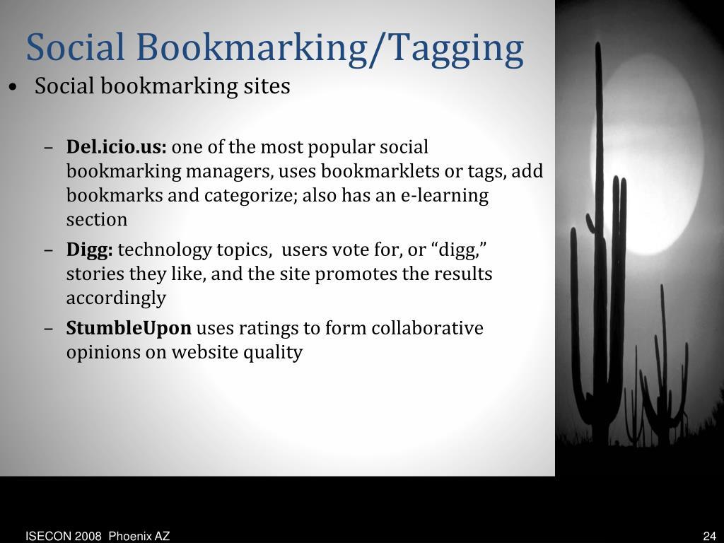 Social Bookmarking/Tagging