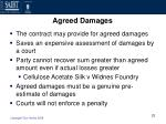 agreed damages