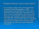 global fisheries and conservation107