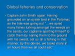 global fisheries and conservation108