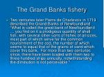 the grand banks fishery111