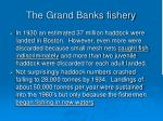 the grand banks fishery122