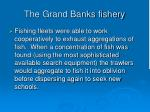the grand banks fishery127
