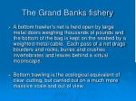 the grand banks fishery137