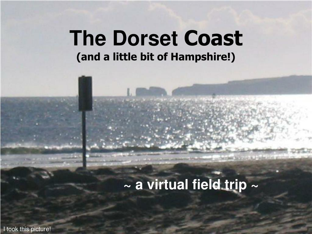 the dorset coast and a little bit of hampshire l.