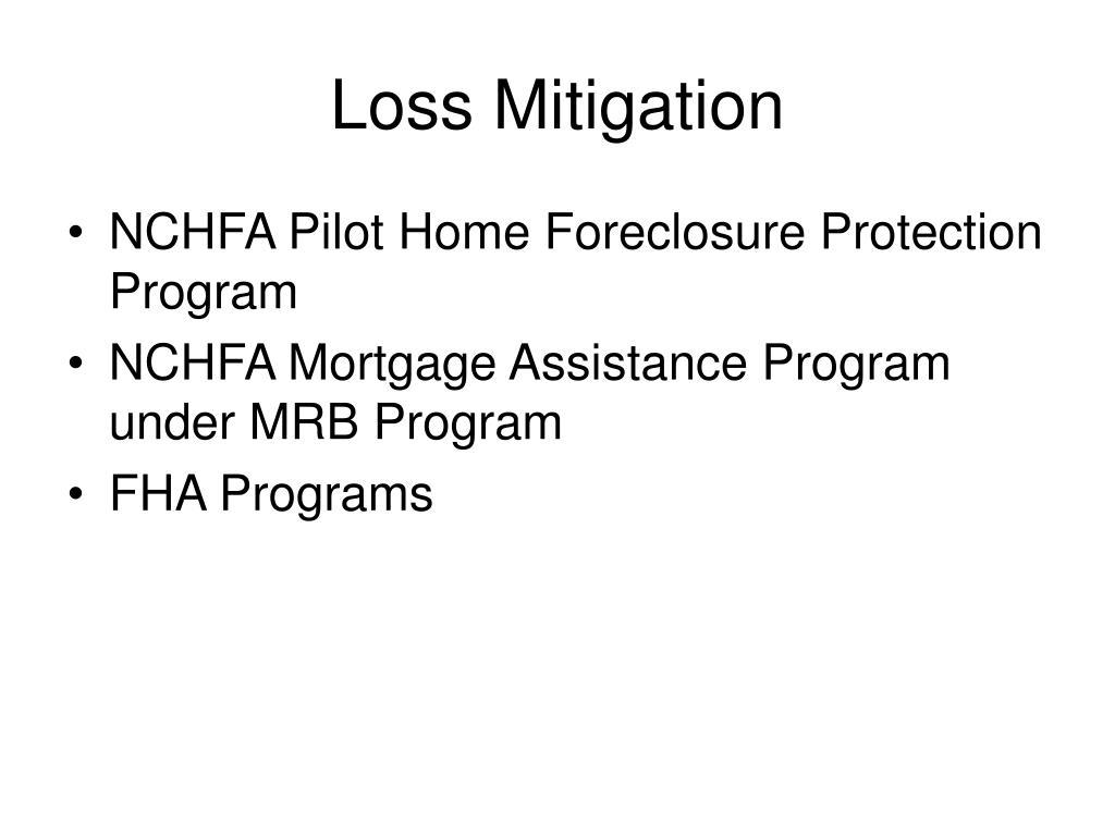 Loss Mitigation