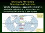 temperature atmospheric circulation and precipitation7