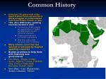common history
