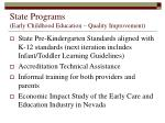 state programs early childhood education quality improvement22