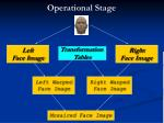 operational stage