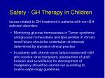 safety gh therapy in children23