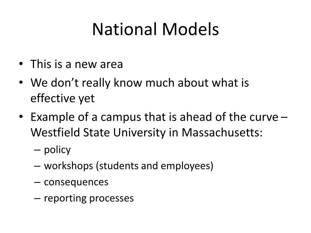 National Models