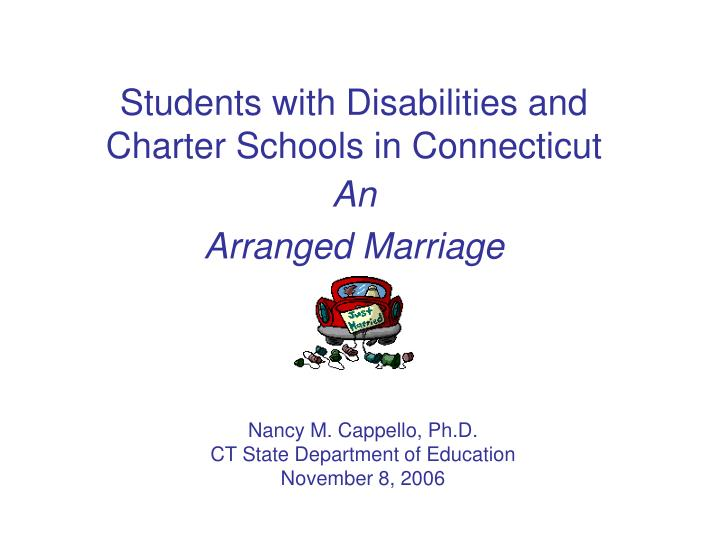 students with disabilities and charter schools in connecticut n.