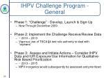 ihpv challenge program general