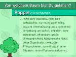 pappel unsicherheit