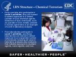 lrn structure chemical terrorism17