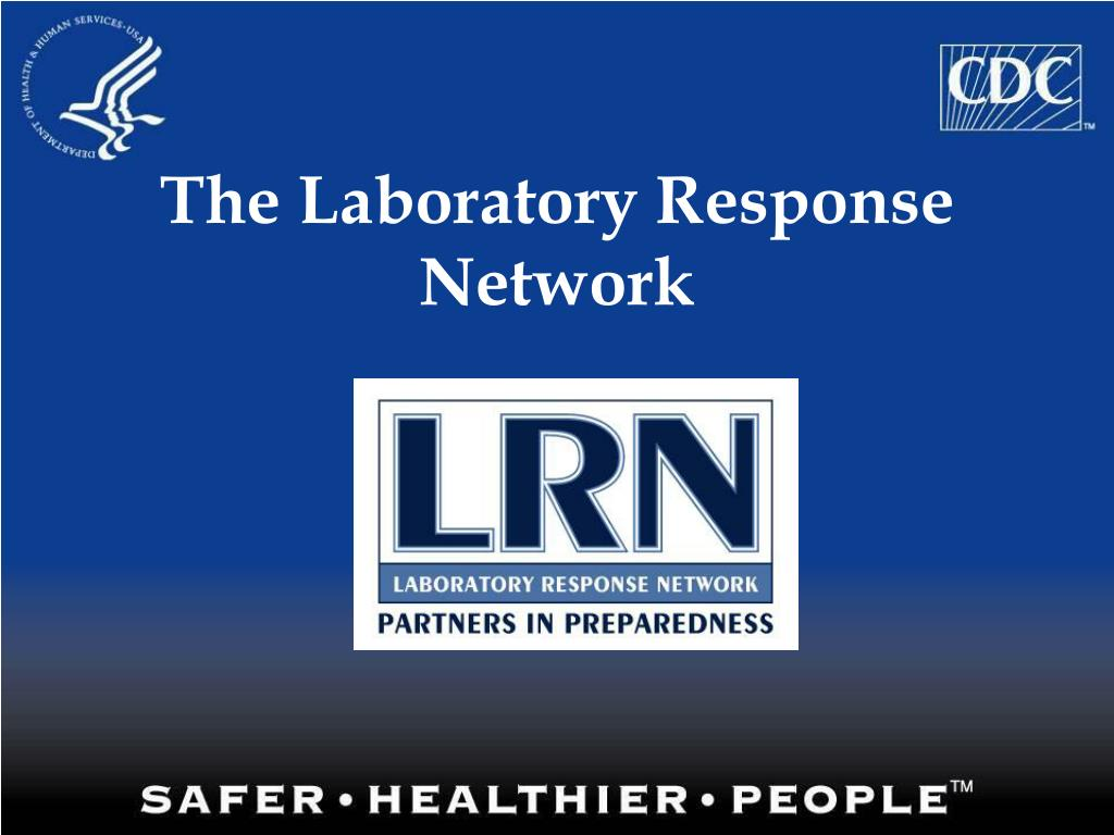 the laboratory response network l.