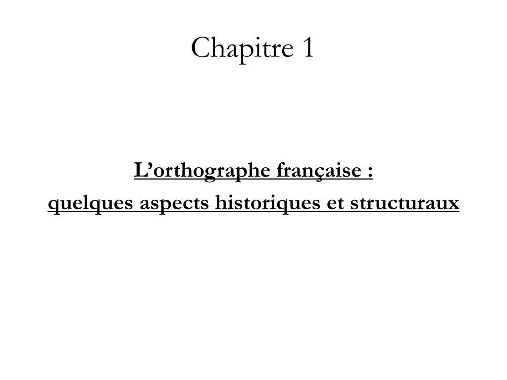 chapitre 1 l.
