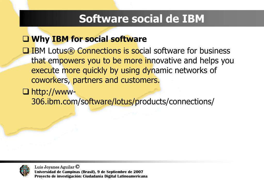 Software social de IBM