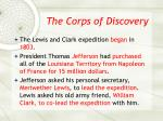 the corps of discovery