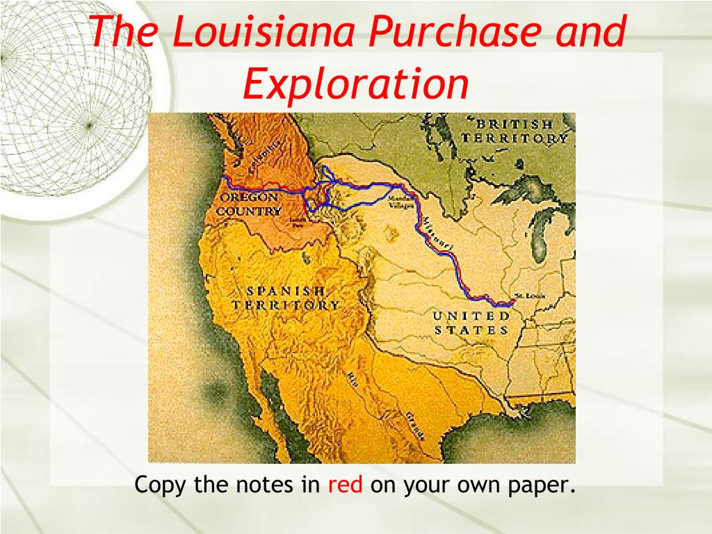 the louisiana purchase and exploration l.