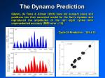 the dynamo prediction